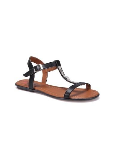 Carmens Sandalet Siyah